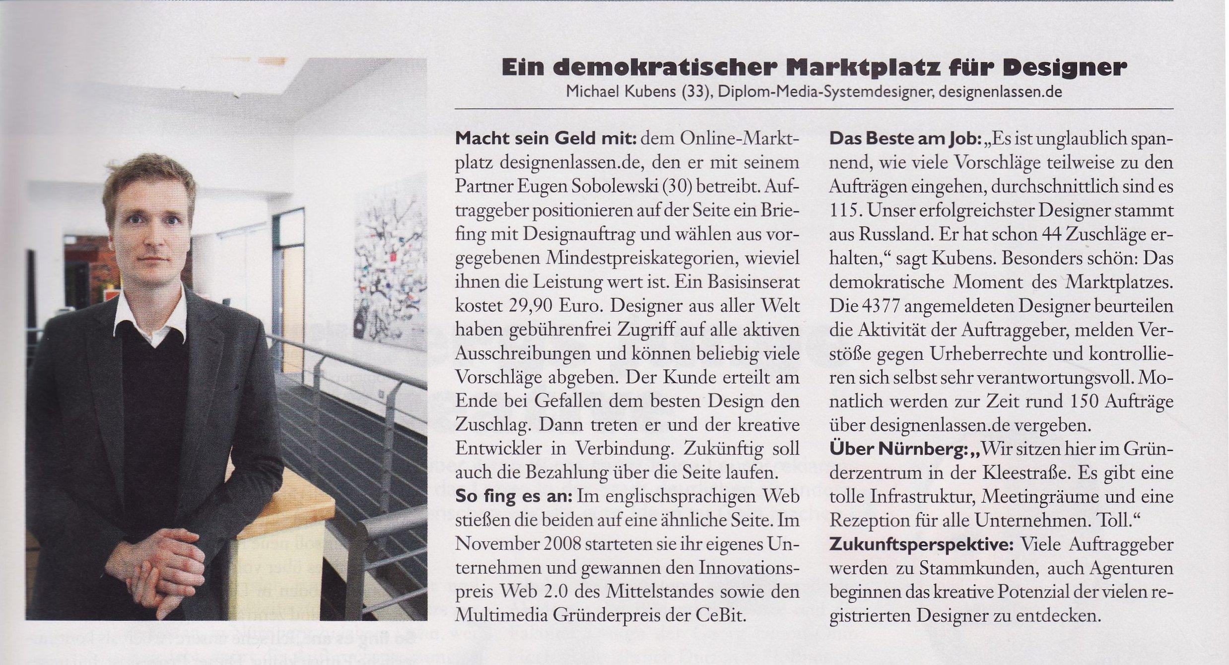 Designenlassen in der neuen Ausgabe von PRINZ