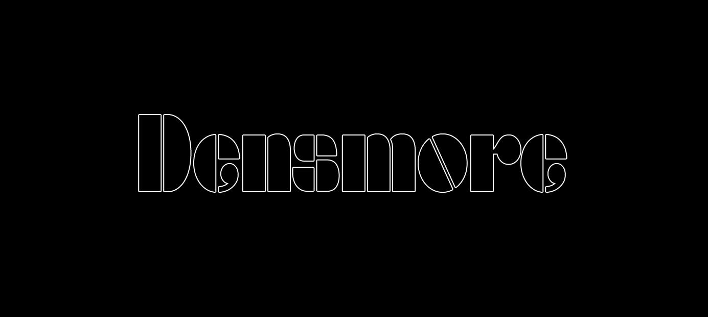 60er Retro Font Densmore