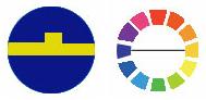Farbschema komplementär
