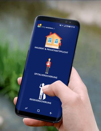 Versicherungs App Icon Design