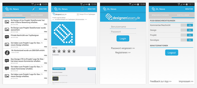 designenlassen_Android App