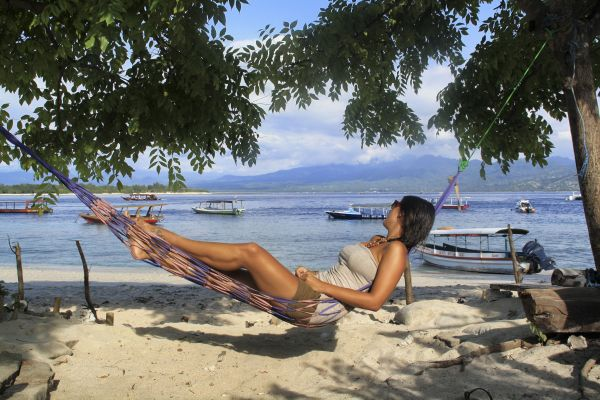 Julia auf Bali