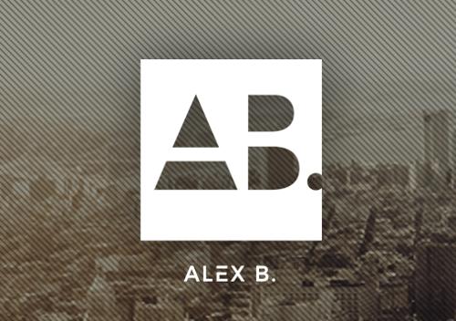 DJ Logo Alex B