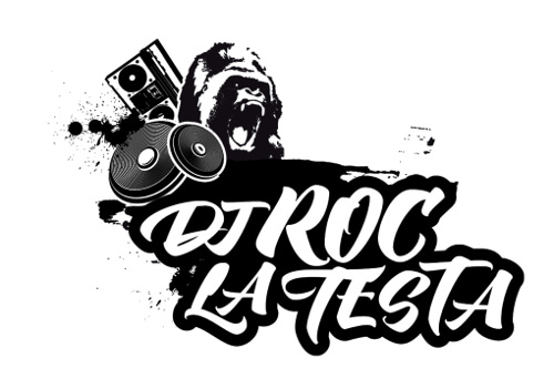 DJ Logo DJ Roc La Testa