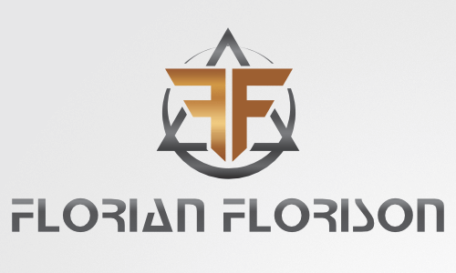 dj logo design Florian Florison