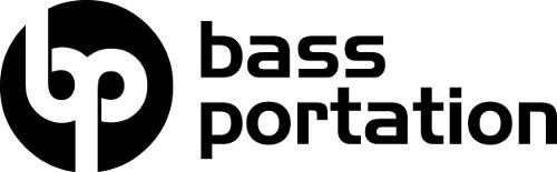 Initialen DJ Logo Bass Portation
