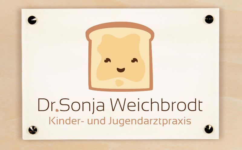 Kinderärztin Dr. Weichbrodt Logo