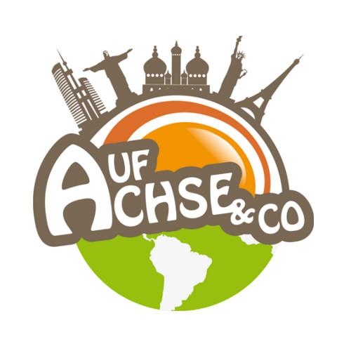 Logo-Design Reiseblog Auf Achse und Co