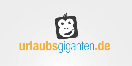 Logo-Design Reiseportal Urlaubsgiganten.de