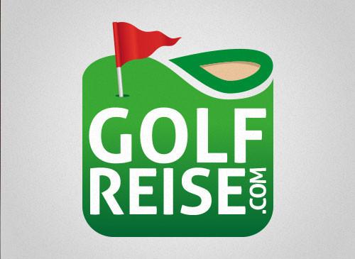 Logo-Design Sportreisen Golfreise