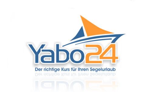 Logo-Design Sportreisen Segelurlaub Yabo24