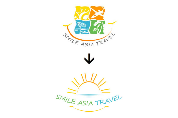 Logo Redesign_Smile_Asia_Travel