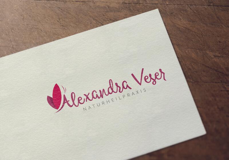 Naturheilpraxis Logo Alexandra Veser