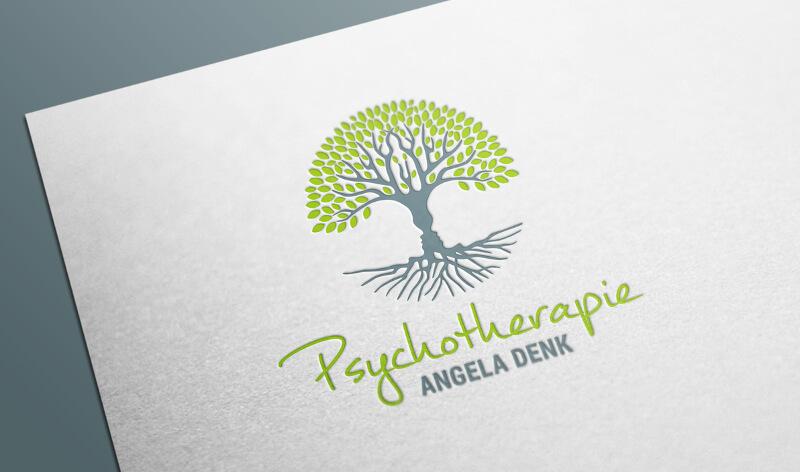 Psychologe Logo Angela Denk