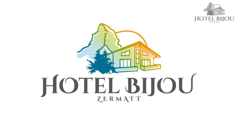 hotel logo design hotel bijou