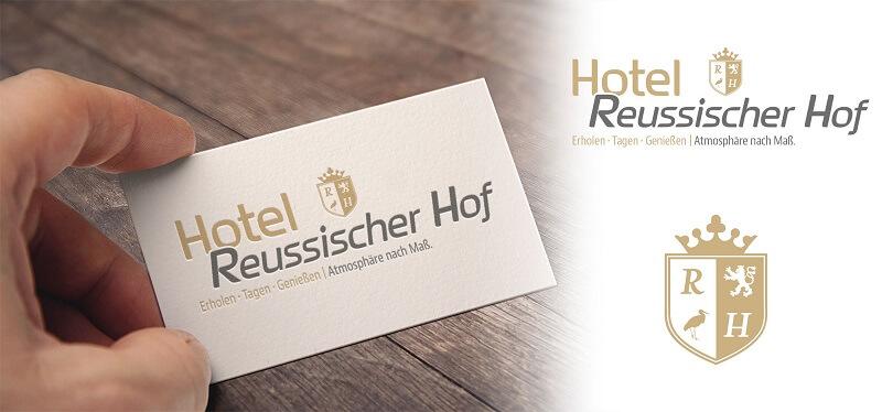 loho hotel reussischer hof visitenkarte