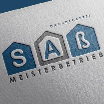 Dachdecker Logo Design Meisterbetrieb Saß 135812