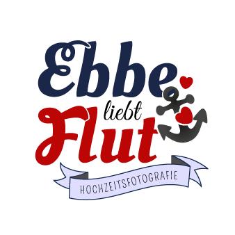 Ebbe liebt Flut Fotografen Logo Hochzeit