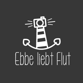 Ebbe liebt Flut Hochzeit Fotograf Logo Design