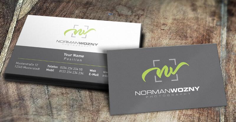 Fotograf Logo Norman Wozny