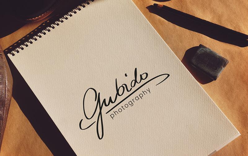 Gubido Photography Logo Design