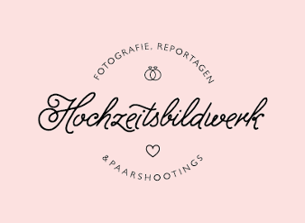 Hochzeitsbildwerk Paarshooting Hochzeitsfotografen Logo Design