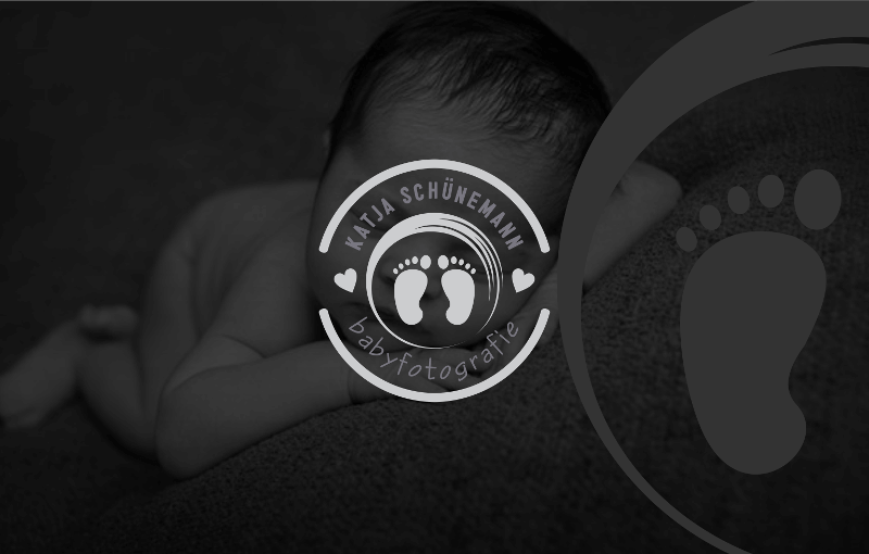 Katja Schünemann Babyfotografie Logo Design