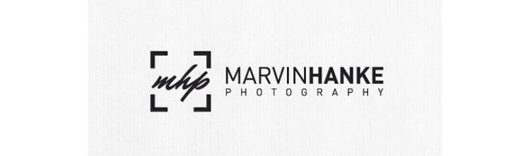 Logo Fotograf Initialen Hanke