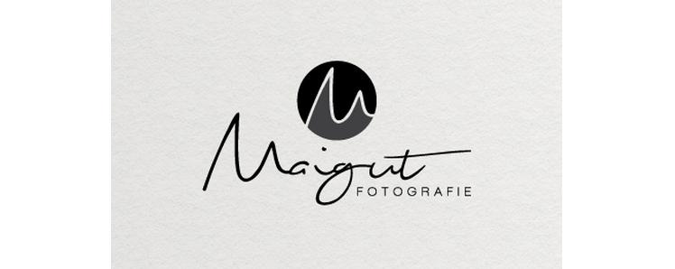 Logo Fotograf Initialen Maigut