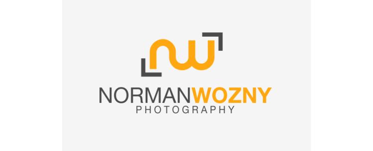 Logo Fotograf Initialen NW_Norman