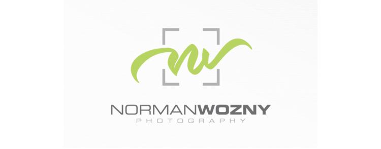 Logo Fotograf Initialen NormanWozny