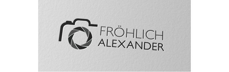 Logo Fotografie Kamera Fröhlich