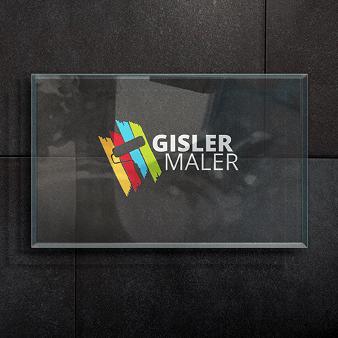 Maler Logo Design Gisler Maler 839147