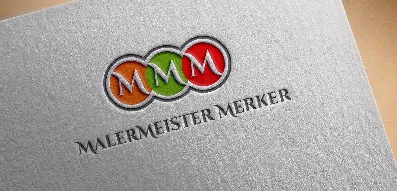 Maler Logo Design Malermeister Merker 748771