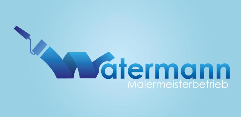 Maler Logo Design Watermann 282289