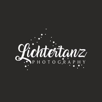 Verspieltes Logo Fotografen Lichtertanz
