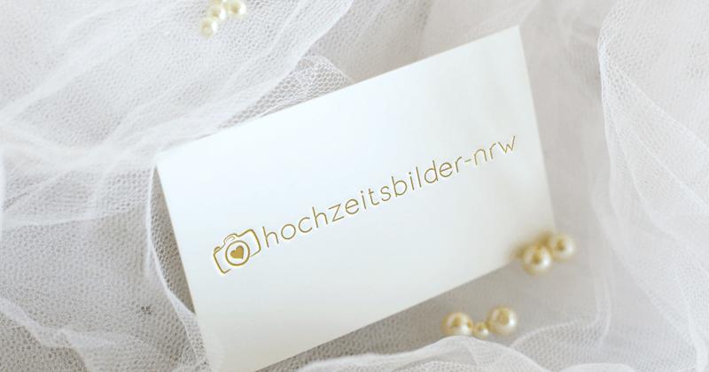 hochzeitsbilder-nrw Hochzeits Fotograf Logo Design