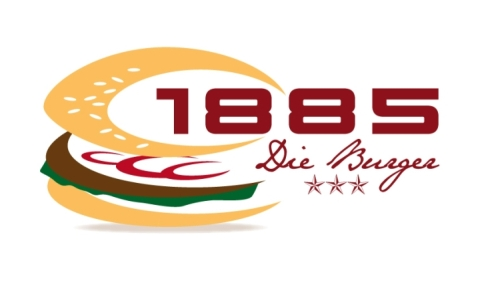 1885 Burger Restaurant Logo