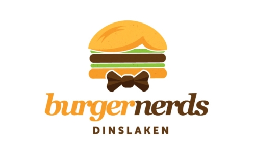 Burger Nerds Logo Design