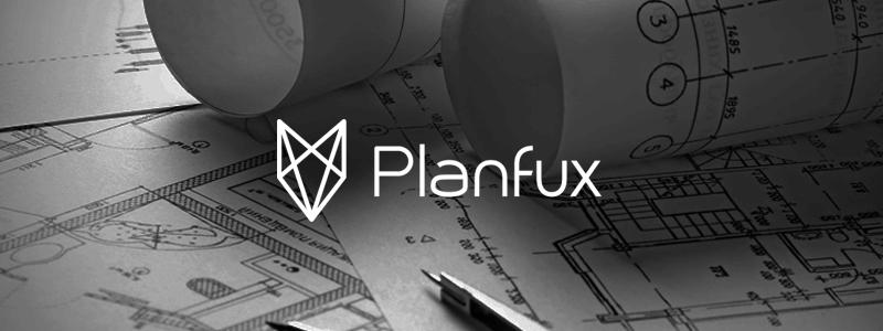 Logo-Design Immobilien Planfux