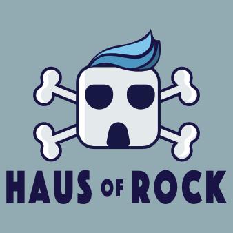 Logo-Design Immobilienfirma Haus of Rock
