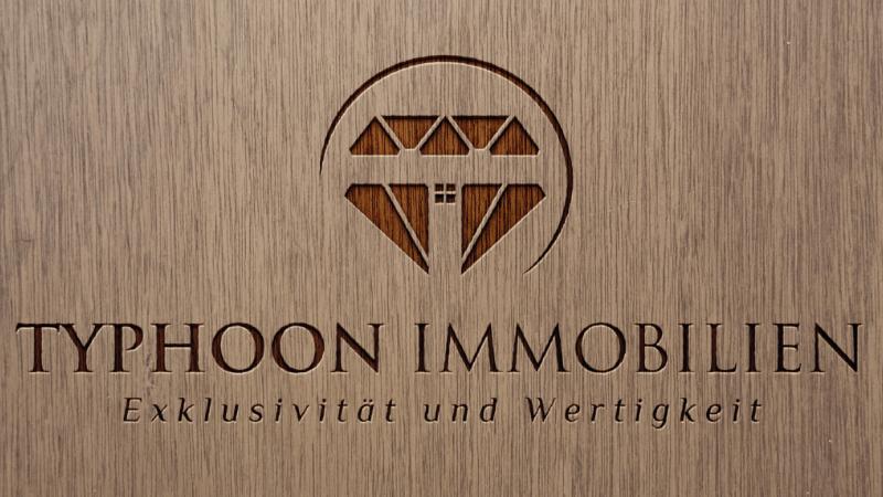 Logo-Design Immobilienfirma Typhoon Immobilien