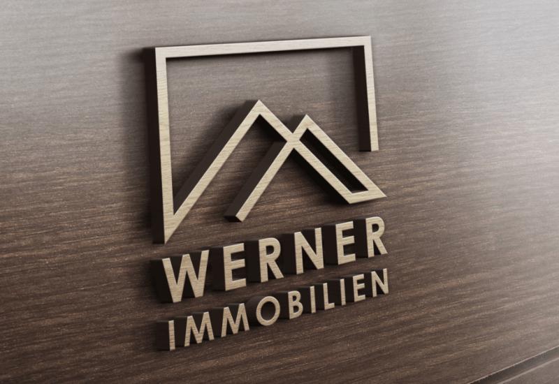 Logo-Design Immobilienmakler Werner Immobilien