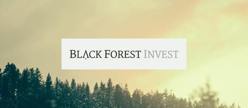 Logo-Design Immobilienunternehmen Black Forest Invest