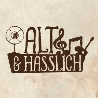 alt und hässlich logo design band