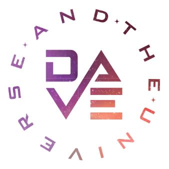 dave universe logo design