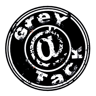 grey logo rock band