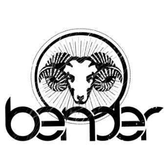logo design bender rockband