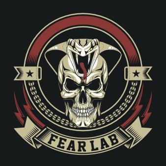 logo design rock totenkopf