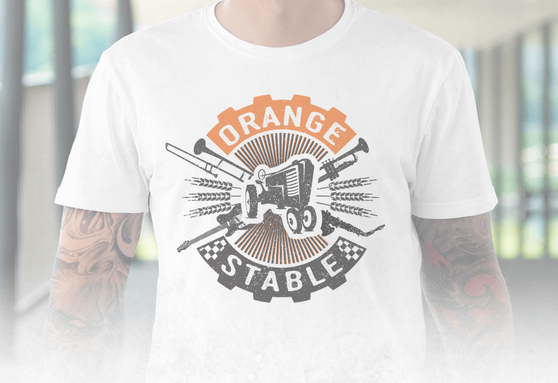orange stable rock logo